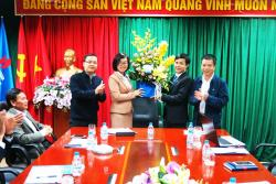 Ceremony of announcement the decision to appointMr. Vu Khanh Vinh as Deputy Director in charge of PetroVietnam Security Corporation.